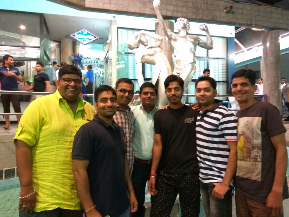 Traveltoexplore Customers - Yash Dave, Vikas, Nitin and friends, Jodhpur